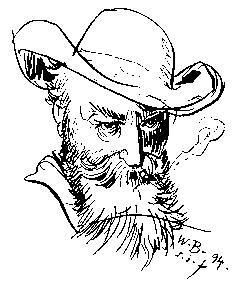 Selbstporträt aus dem Jahr 1894